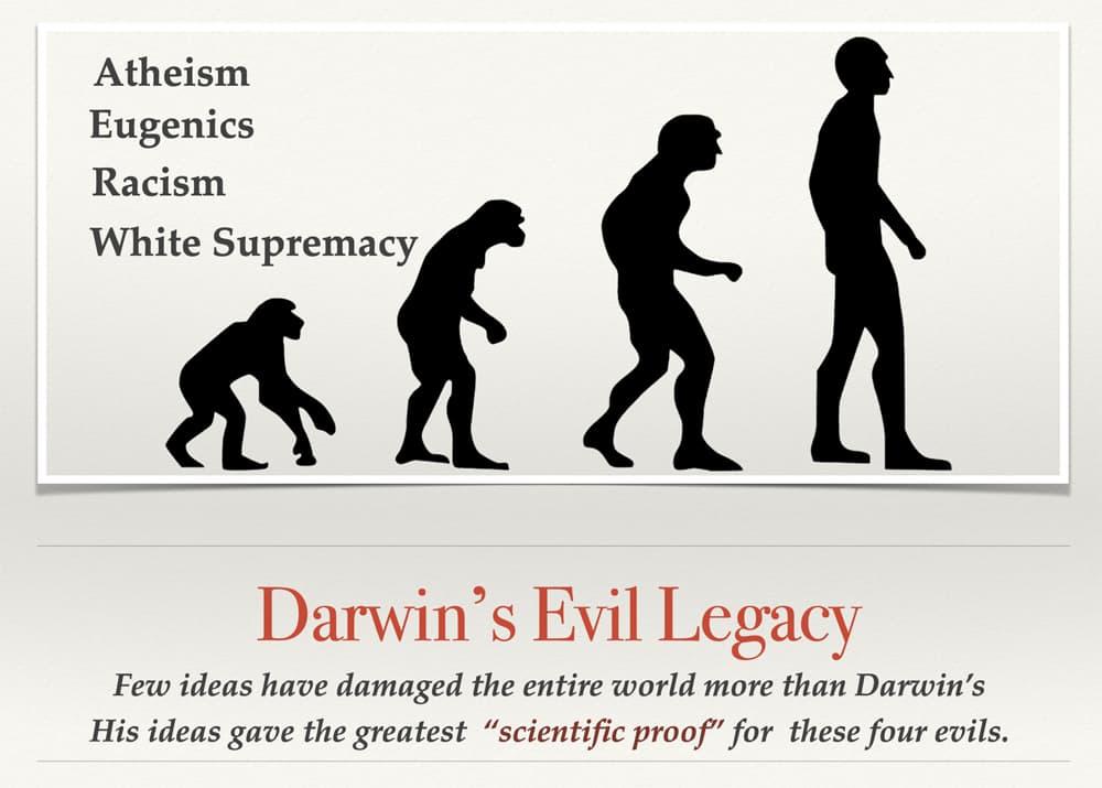 Darwin's Evil Legacy
